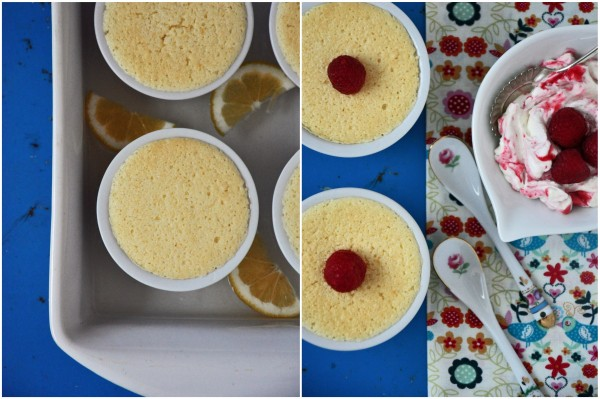 """Lemon Pudding Cakes"""