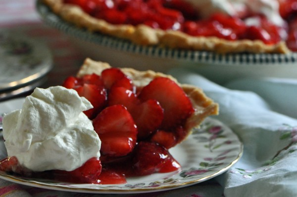 """A slice of Strawberry Glazed Pie"""