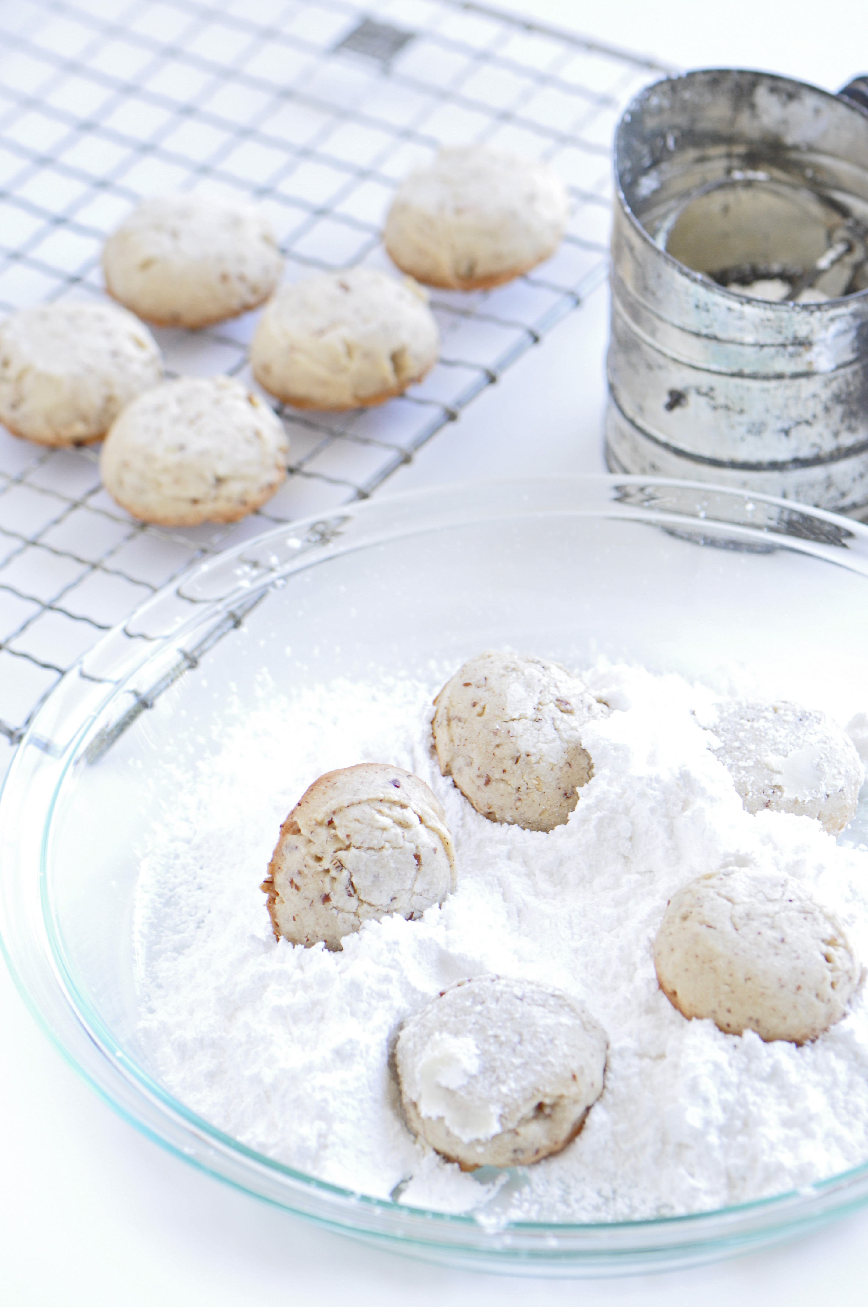 Christmas Cookie Countdown And Mexican Wedding Cookie Recipe