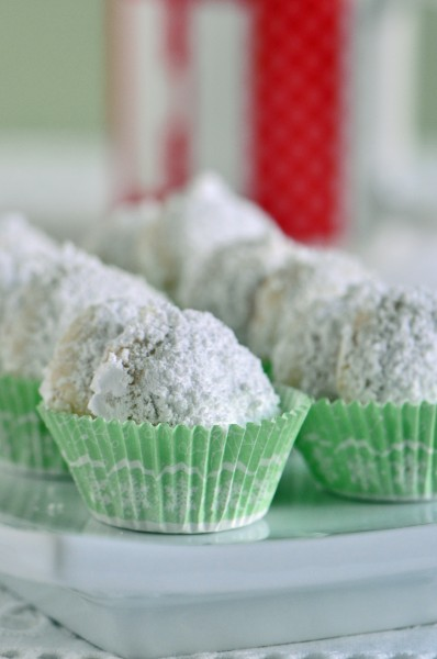 Lime Meltaways Recipe""