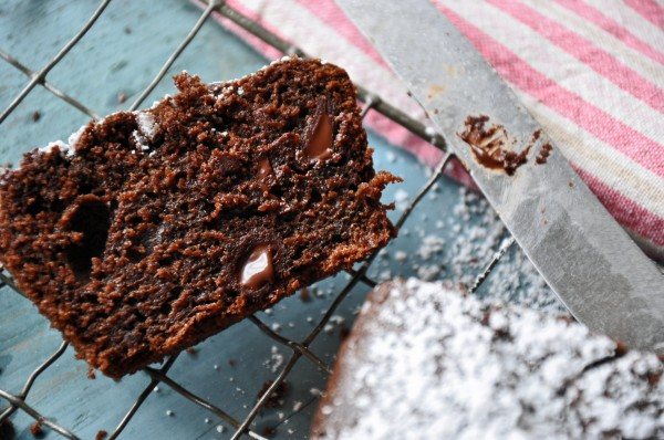 Deep Dark Chocolate Snack Cake Recipe