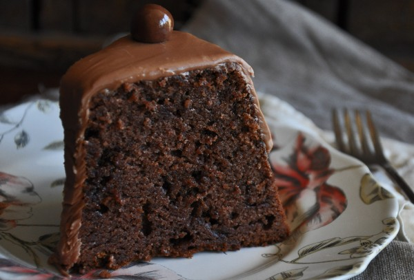 Chocolate Malt Cake with Malted Milk Frosting Recipe