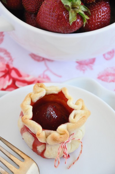 Strawberry Pie Purses Recipe