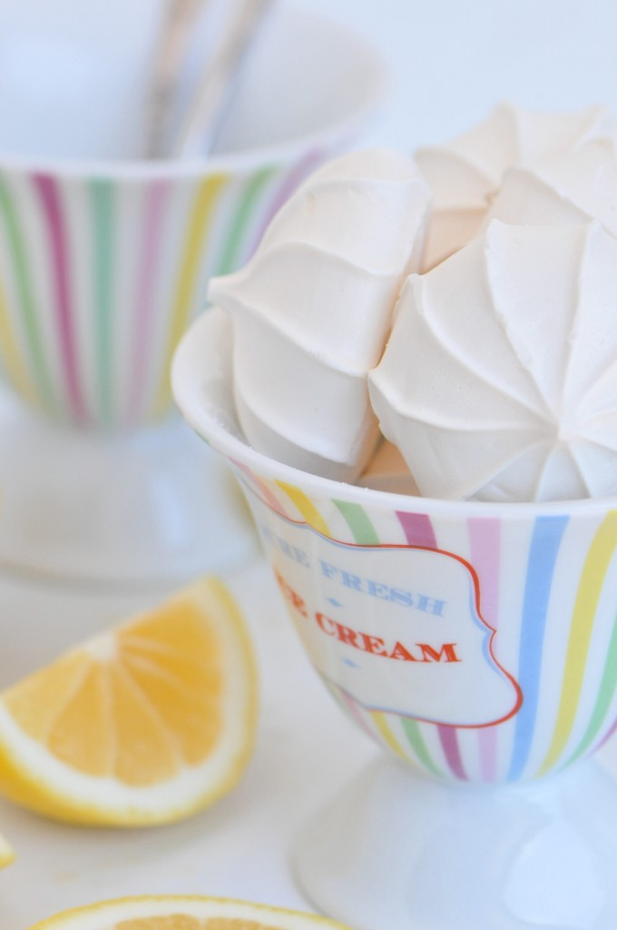 Lemon Meringue Ice Cream Recipe Sifting Focus