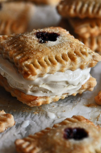 Blackberry Fig Pie-Tart Ice Cream Sandwich Recipe