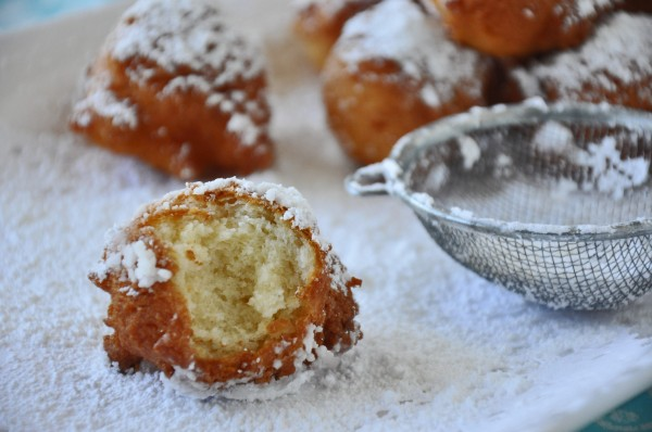 ... doughnuts. Let you imagination run wild. From maple syrup to lemon