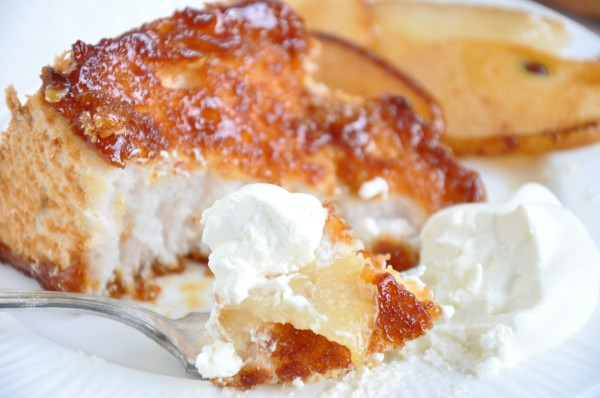 Lacquered Angel Food Cake Recipe