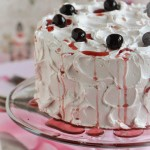 Candy Cherry Cake with Cherry Buttercream Recipe