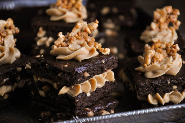 Peanut Butter Brownie Sandwiches Recipe