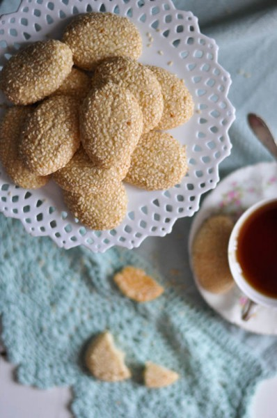 Sesame Seed Butter Cookie Recipe