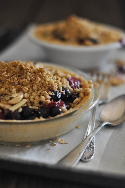 Berry Crumble 'Mini' Pies Recipe