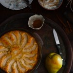 Rustic Almond Cake with Pears Recipe