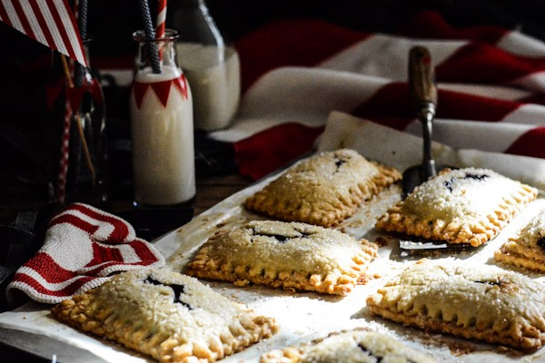 Blueberry and Cream Cheese Hand Pies Recipe