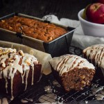 Apple Walnut Bread with Brown Sugar Glaze Recipe