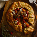 Cherry Tomato Tart with Za'atar Recipe