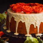 Orange Spice Angel Food Cake with Orange Glaze Recipe