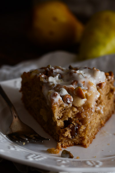 Fig Jam Pear And Pistachio Coffeecake Recipe